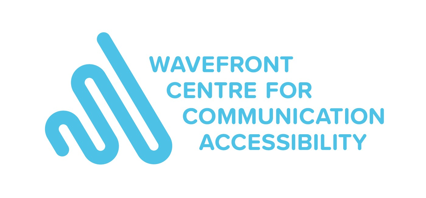 Logo for Wavefront Centre for Communication Accessibility